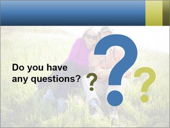 Couple Sitting In Field PowerPoint Templates - Slide 96