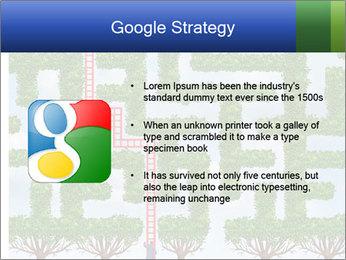 Grass Maze PowerPoint Template - Slide 10