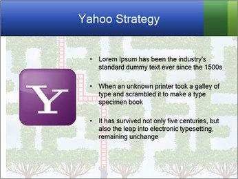 Grass Maze PowerPoint Template - Slide 11