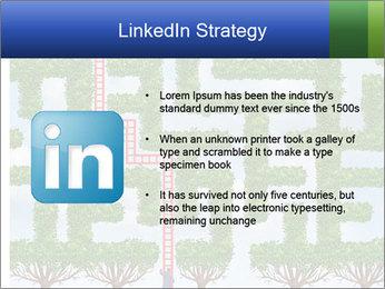 Grass Maze PowerPoint Template - Slide 12