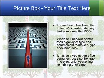 Grass Maze PowerPoint Template - Slide 13