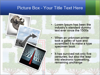Grass Maze PowerPoint Template - Slide 17