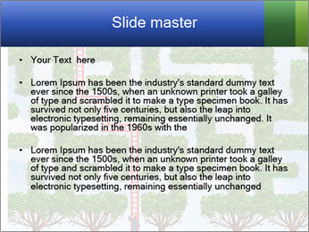 Grass Maze PowerPoint Template - Slide 2