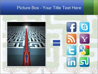 Grass Maze PowerPoint Template - Slide 21