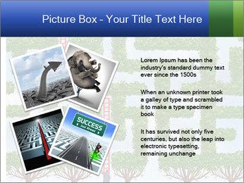Grass Maze PowerPoint Template - Slide 23