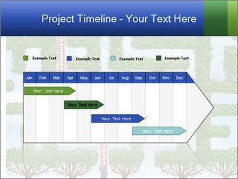 Grass Maze PowerPoint Template - Slide 25