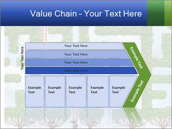 Grass Maze PowerPoint Template - Slide 27