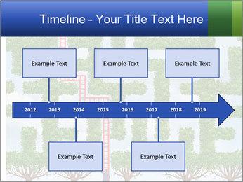 Grass Maze PowerPoint Template - Slide 28