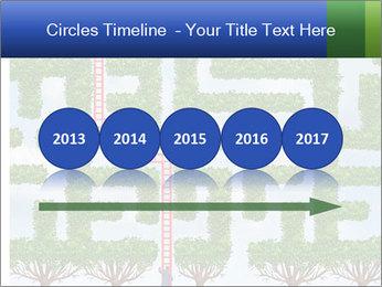 Grass Maze PowerPoint Template - Slide 29