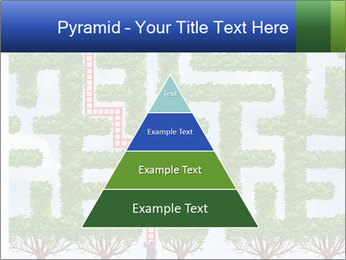 Grass Maze PowerPoint Template - Slide 30