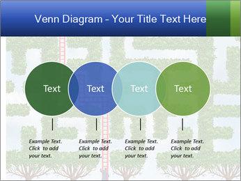 Grass Maze PowerPoint Template - Slide 32