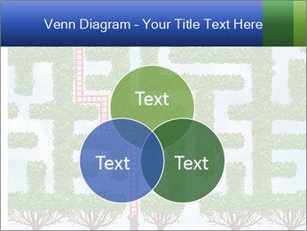 Grass Maze PowerPoint Template - Slide 33