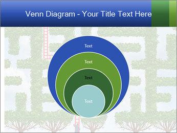 Grass Maze PowerPoint Template - Slide 34
