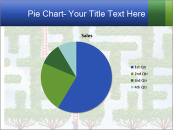 Grass Maze PowerPoint Template - Slide 36