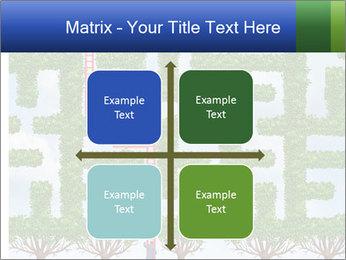 Grass Maze PowerPoint Template - Slide 37