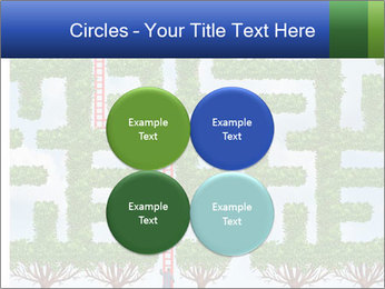 Grass Maze PowerPoint Template - Slide 38