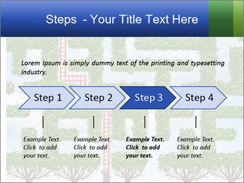 Grass Maze PowerPoint Template - Slide 4