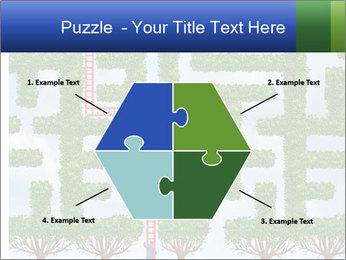 Grass Maze PowerPoint Template - Slide 40