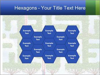 Grass Maze PowerPoint Template - Slide 44