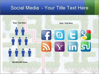 Grass Maze PowerPoint Template - Slide 5
