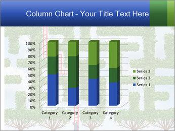 Grass Maze PowerPoint Template - Slide 50