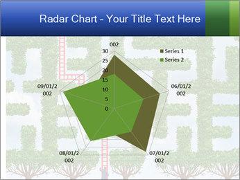 Grass Maze PowerPoint Template - Slide 51