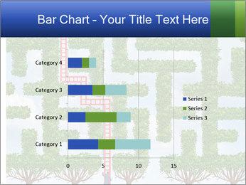 Grass Maze PowerPoint Template - Slide 52