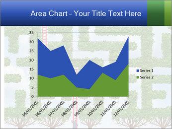 Grass Maze PowerPoint Template - Slide 53