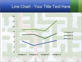 Grass Maze PowerPoint Template - Slide 54