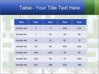 Grass Maze PowerPoint Template - Slide 55