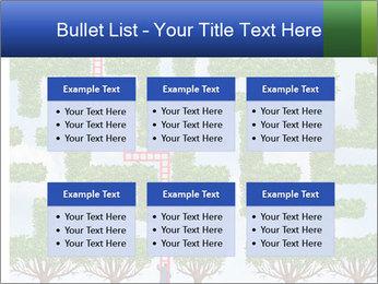 Grass Maze PowerPoint Template - Slide 56