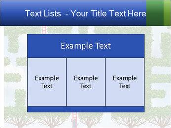 Grass Maze PowerPoint Template - Slide 59