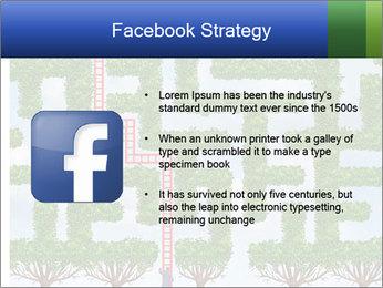 Grass Maze PowerPoint Template - Slide 6