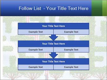 Grass Maze PowerPoint Template - Slide 60