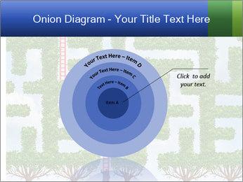 Grass Maze PowerPoint Template - Slide 61