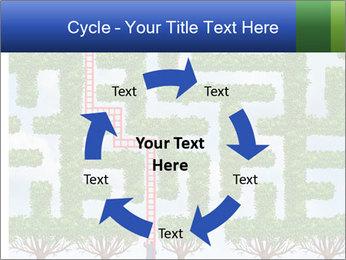 Grass Maze PowerPoint Template - Slide 62