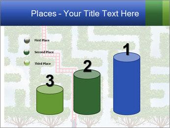 Grass Maze PowerPoint Template - Slide 65