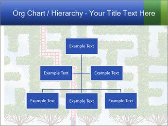 Grass Maze PowerPoint Template - Slide 66