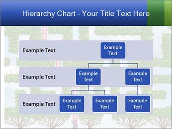 Grass Maze PowerPoint Template - Slide 67