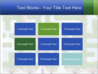 Grass Maze PowerPoint Template - Slide 68