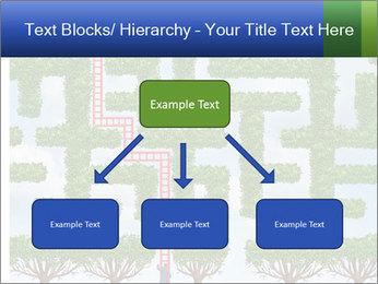Grass Maze PowerPoint Template - Slide 69