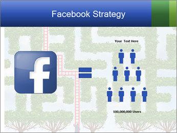 Grass Maze PowerPoint Template - Slide 7