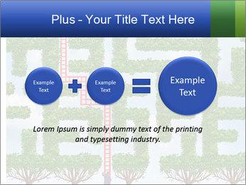 Grass Maze PowerPoint Template - Slide 75
