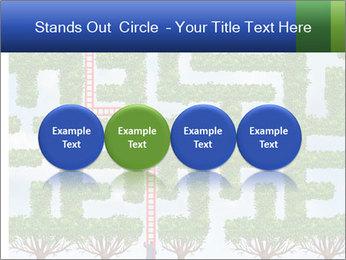 Grass Maze PowerPoint Template - Slide 76