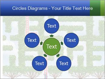 Grass Maze PowerPoint Template - Slide 78