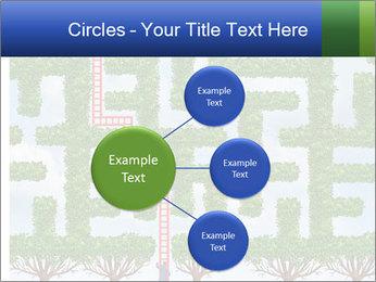 Grass Maze PowerPoint Template - Slide 79