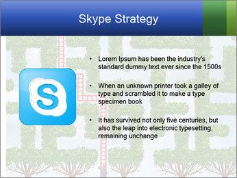 Grass Maze PowerPoint Template - Slide 8