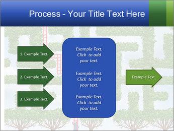 Grass Maze PowerPoint Template - Slide 85
