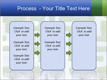Grass Maze PowerPoint Template - Slide 86