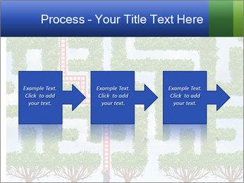 Grass Maze PowerPoint Template - Slide 88